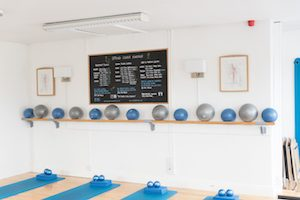 Timetable Pilates Studio Midleton